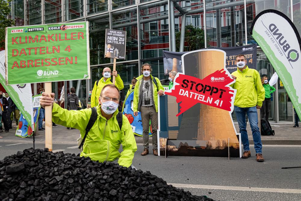 """BUND-Protest zur Uniper-Hauptversammlung: """"Datteln 4 stoppen!"""""""