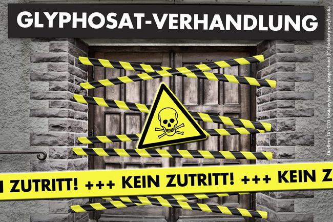 Glyphosat-Verhandlungen nicht unter Ausschluss der Öffentlichkeit!