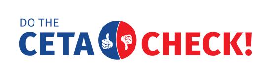 Logo der Aktion CETA Check