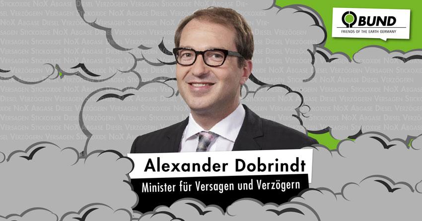 Minister für Versagen und Verzögern: Alexander Dobrindt