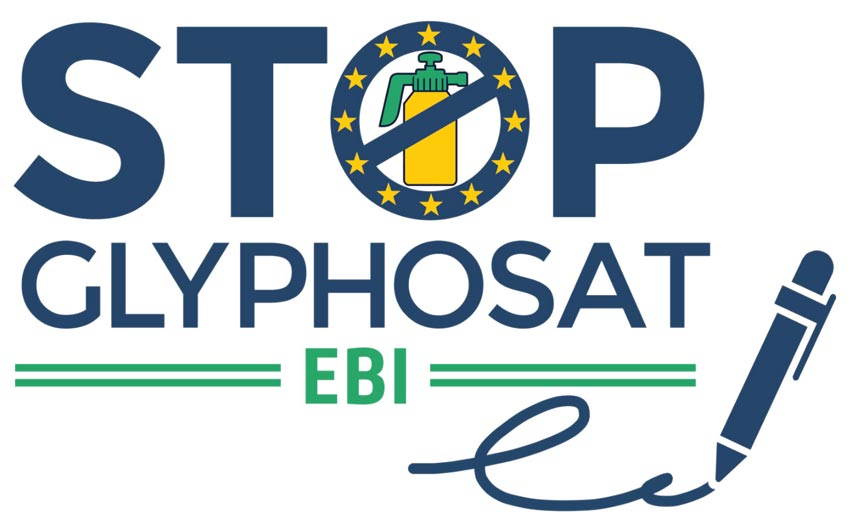 Logo EBI gegen Glyphosat
