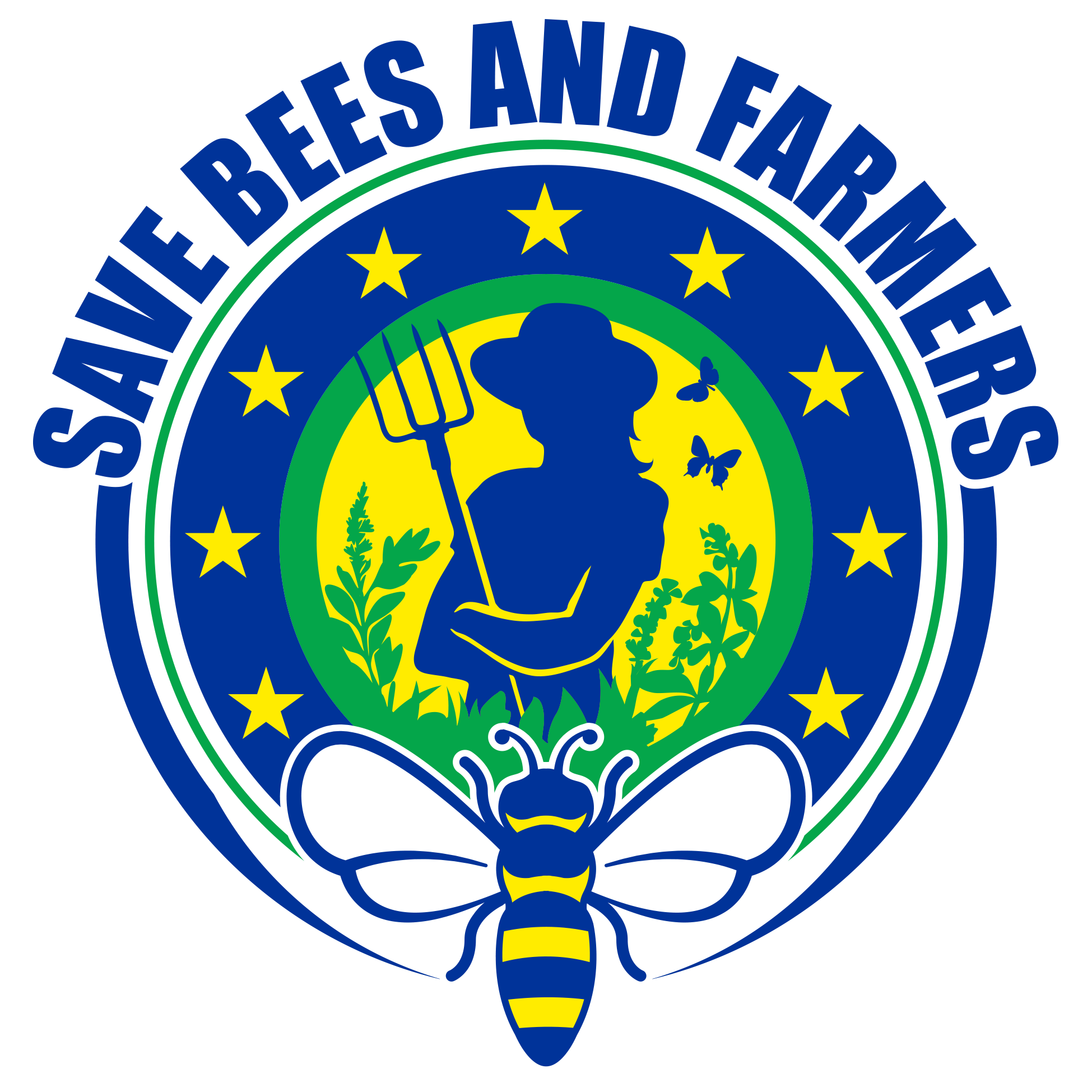 Aktion save bees and farmers
