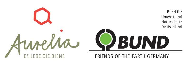 Logos Aurelia Stiftung und BUND