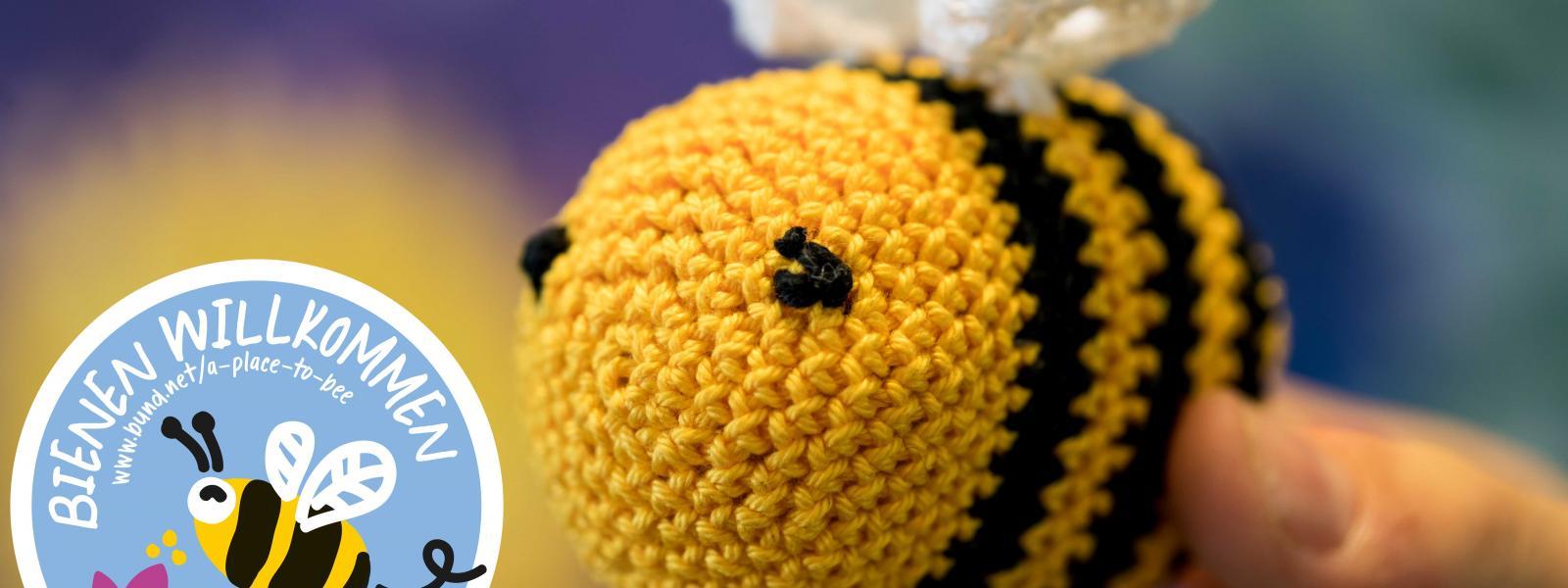 Jetzt Bestäuber schützen und BUND-Aktion mit DIY-Biene unterstützen!
